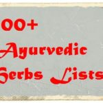 ayurvedic herbs lists in hindi
