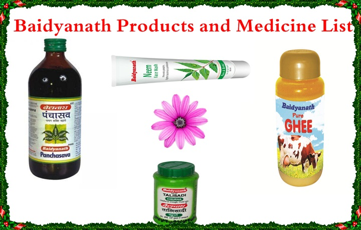 Baidyanath Products List