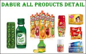 dabur products list in hindi
